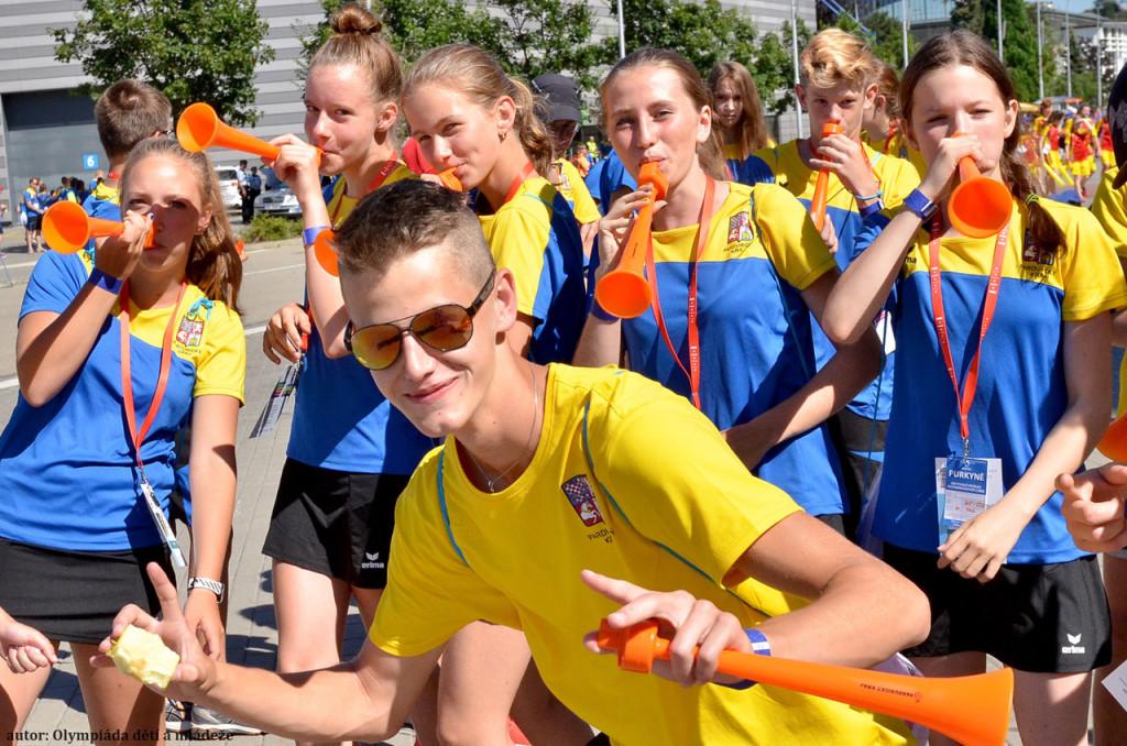 Olympiáda dětí a mládeže 2017 - 2